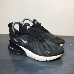 Nike Air Max 270 GS Black Size 4.5Y Womens Size 6